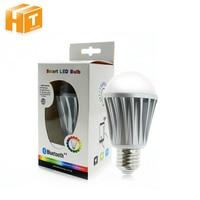 Bluetooth LED Bulb 7 5W E27 RGBW Bluetooth 4 0 Smart LED Light Color Change Dimmable