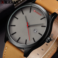 Curren Watch Men Brand Luxury Leather Strap Sport Quartz Watches New Fashion Casual Mens Wristwatch Male