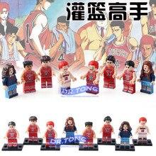 Single Sale PG8092 SLAM DUNK Figure Hisashi Akagi Sakuragi Mitsui Miyagi Ryota Takenori Haruko font b