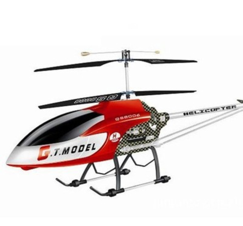 134cm super larger professional RC Helicopter QS8006 3.5CH Gyro Metal Electric RTF 2 Speed Model with missile led lightRC drone
