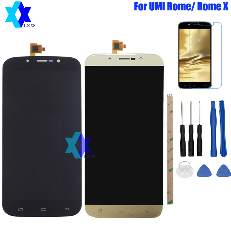 For Original UMI ROME ROME X LCD Display Touch Screen Panel Digital Replacement Parts Assembly 5