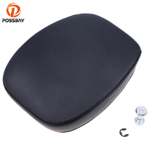 PU Leather Motorcycle Seat Covers Rear Passenger Seats moto Cafe Racer Scooter Seat Covers for Harley 883/48 2012 2013 2014 2015 цены онлайн