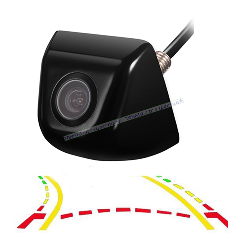 Zinc alloy Intelligent Dynamic Trajectory Tracks Rear View Camera Reversing Parking Assistance For Android DVD Monitor byncg 12 leds intelligent dynamic trajectory tracks rear view camera ccd reverse backup camera auto reversing parking assistance