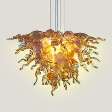 Free Shipping Christmas New Wedding Deco Blown Glass Murano Chandelier Light