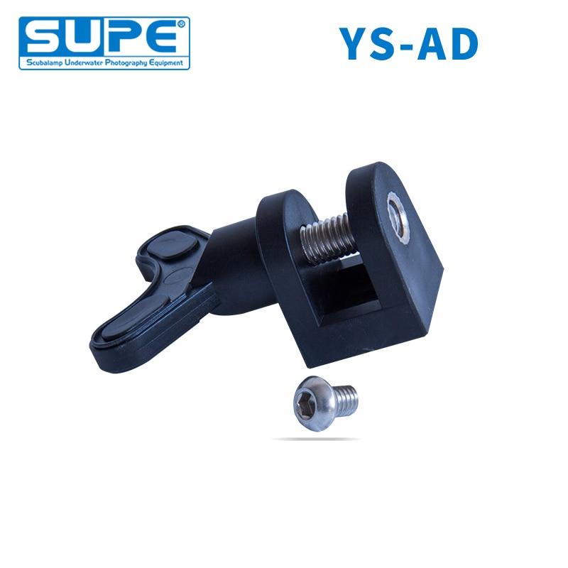 SUPE Scubalamp YSAD YS CLAMP Universal For Underwater Scuba Diving Light