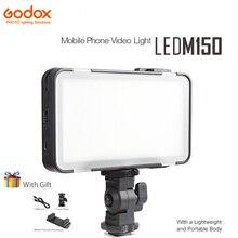 Godox Ledm150 Telemóvel Video Light Lamp Com um corpo Leve e Portátil LED Brilho Ajustável para a Fotografia Telefones