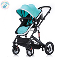Russia free shipping baby stroller high landscape can sit lie and winter baby two-way shock trolley portable folding children