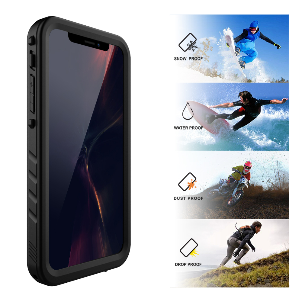 Waterproof Case For IPhone X XR XS 11 Pro MAX Daily Water Proof Swimming Diving Shockproof Protection Cover