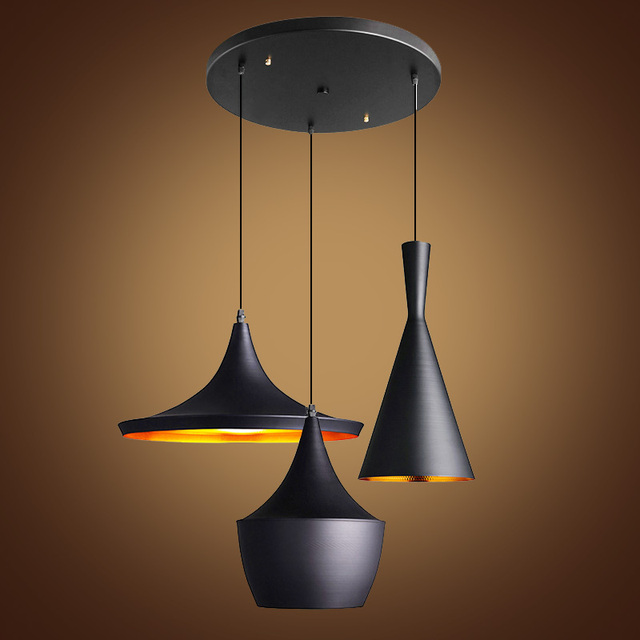 modern pendant lights design by tom dixon beat musical. Black Bedroom Furniture Sets. Home Design Ideas