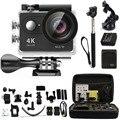 H9 go Action Camera Ultra HD 4K WiFi 1080P Sport Go 2.0 LCD Waterproof pro Camera + Carry Bag Monopod