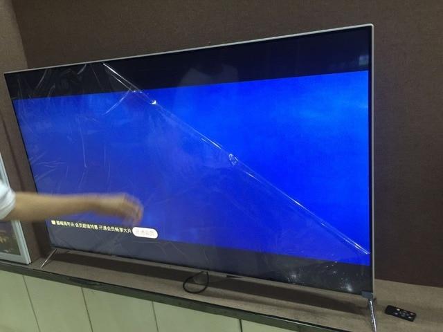 OEM 55 65 inch Ultra-thin metal frame enclosure Full HD 4k Smart TV set android lan/wifi T2 global version led television TV