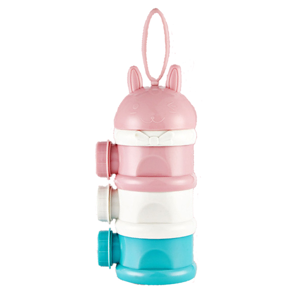 Коробка для сухого молока сухое молоко для новорожденного коробка малыш ребенок коробка для сухого молока креативный полипропилен милый трехслойный закуски