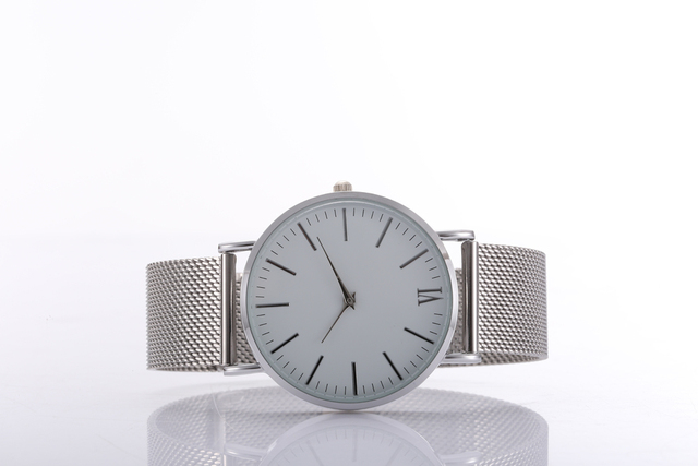 Luxury montre homme Watches Stainless Steel Mesh Bracelet