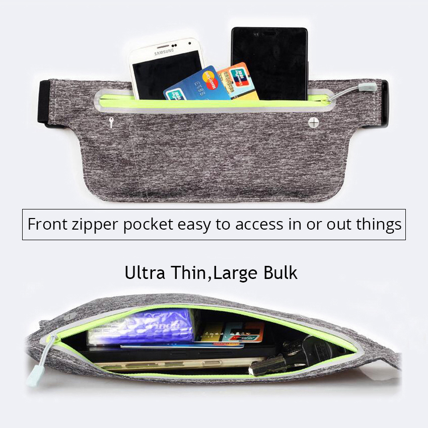 b94fa8316339 US $6.16 23% OFF|Running Belt Waist Case For iphone 7 6 x 8 plus 7 plus se  5s 6s Case Waterproof Cell Phone Bag Sports Pouch Pocket Gym Jog Cover-in  ...