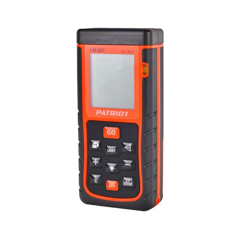 Distance meter laser PATRIOT LM601 (Distance measurement 60 M., class laser II, protection class IP54) м class mark ii m 4210 kj2 00 46000007