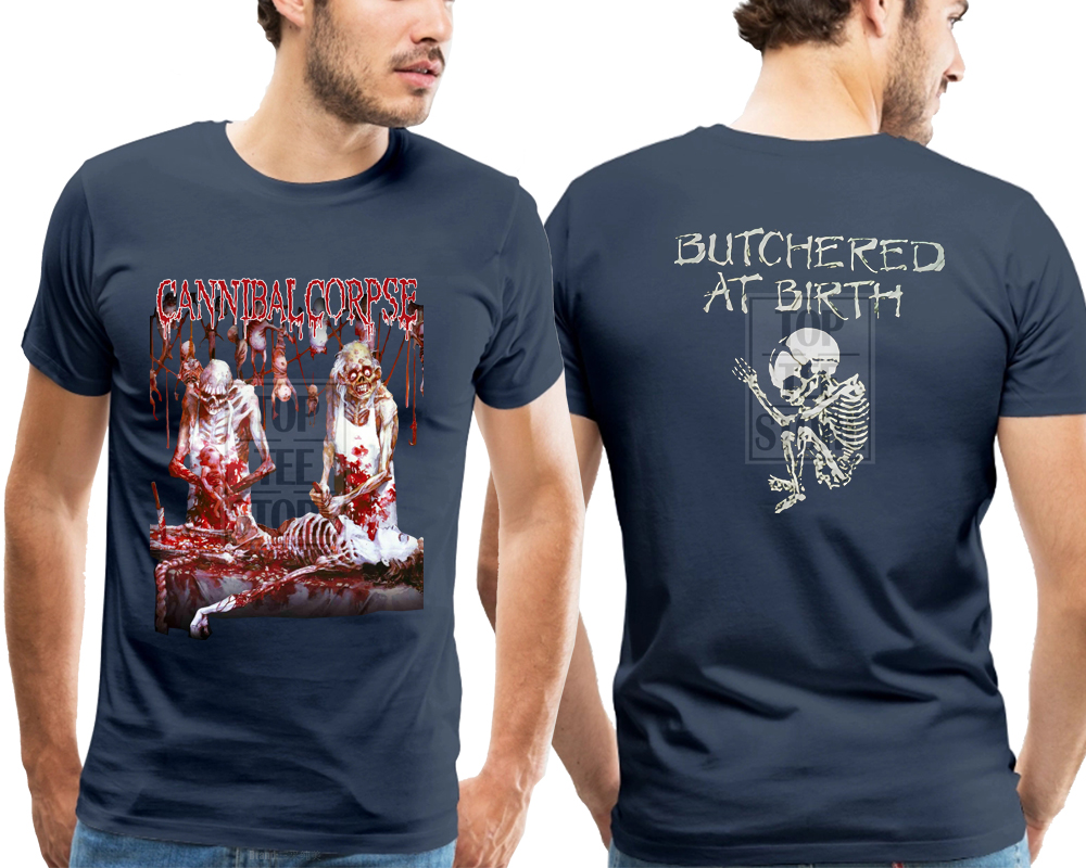 CANNIBAL CORPSE-Butchered at Birth,BLACK T-shirt long sleeve-sizes:S to XXL