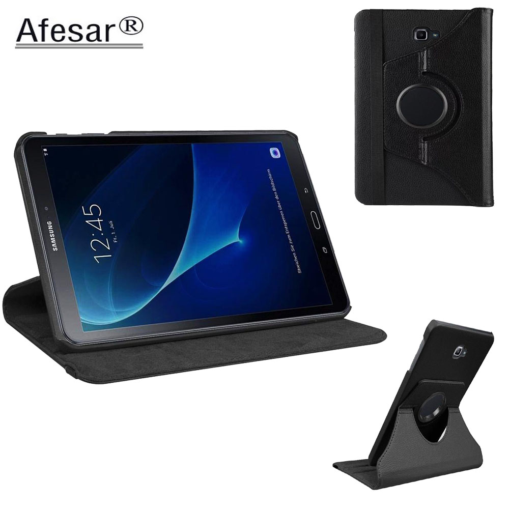 Tab A A6 <font><b>10.1</b></font> SM T580 T585 T587 <font><b>360</b></font> Rotating Case Cover - ForSamsung Galaxy Tab A <font><b>10.1</b></font> 2016 Tablet multi angel stand cover case image