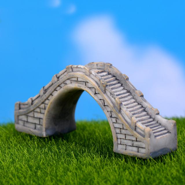 Mini Decorative Bridge Garden Figurine