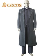CGCOS Free Shipping Cosplay Costume Fullmetal Alchemist Greed uniform New in Stock Retail/Wholesale Halloween Christmas Party