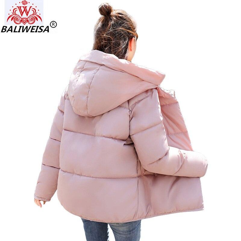 2019 Ouate Femmes Nouveau D'hiver Beige Automne Veste Vestes Feminina De rose Manteau Jaqueta marron noir Mode Décontractée Inveno Parkas Femme vZq6qwE