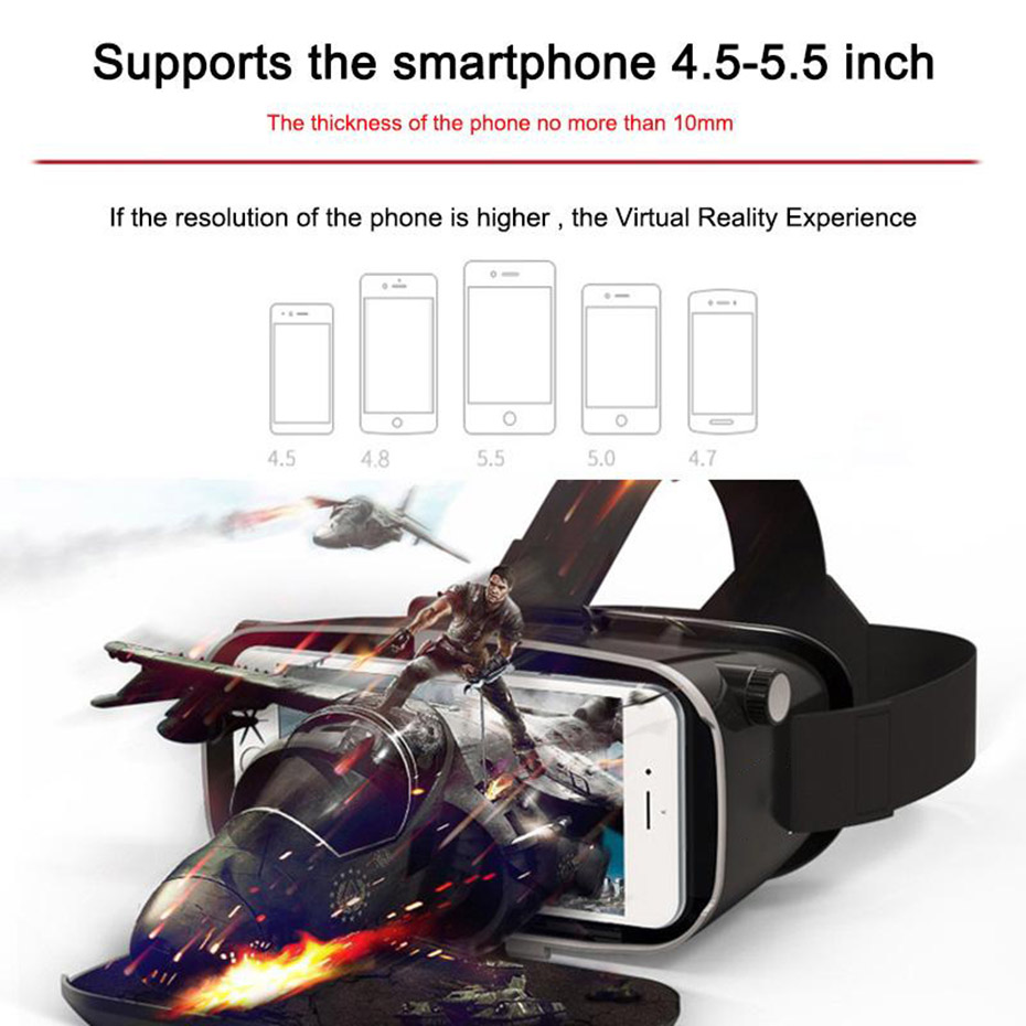 vr 3d vr box 3d vr vr glasses virtual 6 virtual pc glasses vr headset virtual reality goggles cardboard 3d glasses 3