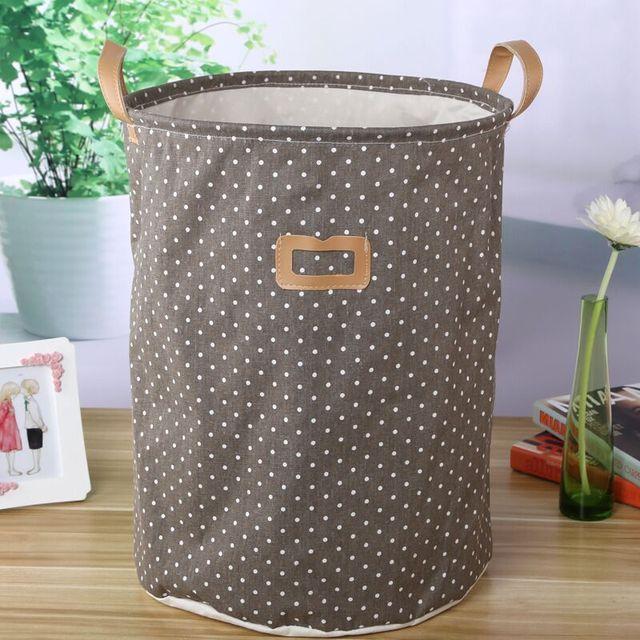 5bf901d2ac9 Nueva tela no tejida plegable caja de almacenamiento de la ropa interior  dormitorio cesta organizador para