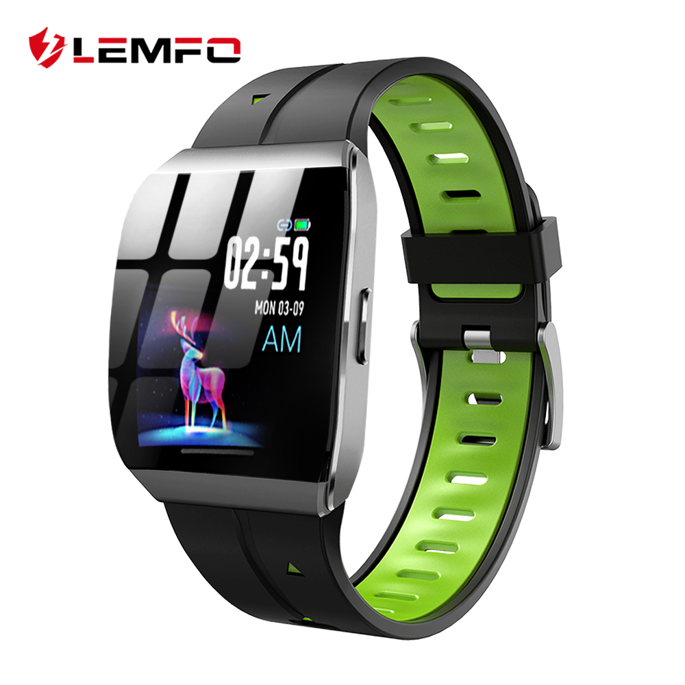 LEMFO X1 Smart Watch 1.3 Inch Large Display Alloy Case IP68 Waterproof Heart Rate Monitor 30 Days Long Time Standby Smartwatch-in Smart Watches from Consumer Electronics on AliExpress