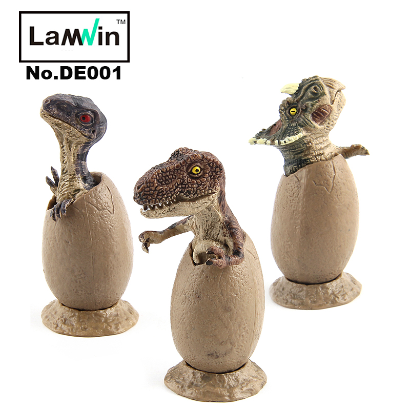3pcs/set Jurassic World Park Dinosaur Egg Toy VS Magic Water Growing Dinosaur Baby Action Figure Learning Educational Toy jurassic velociraptor dinosaur pvc action figure model decoration toy movie jurassic hot dinosaur display collection juguetes
