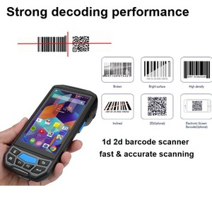 Image 1 - Android 8.1 Handheld 1D 2D Honeywell 6603 QR code PDA Barcode Scanner