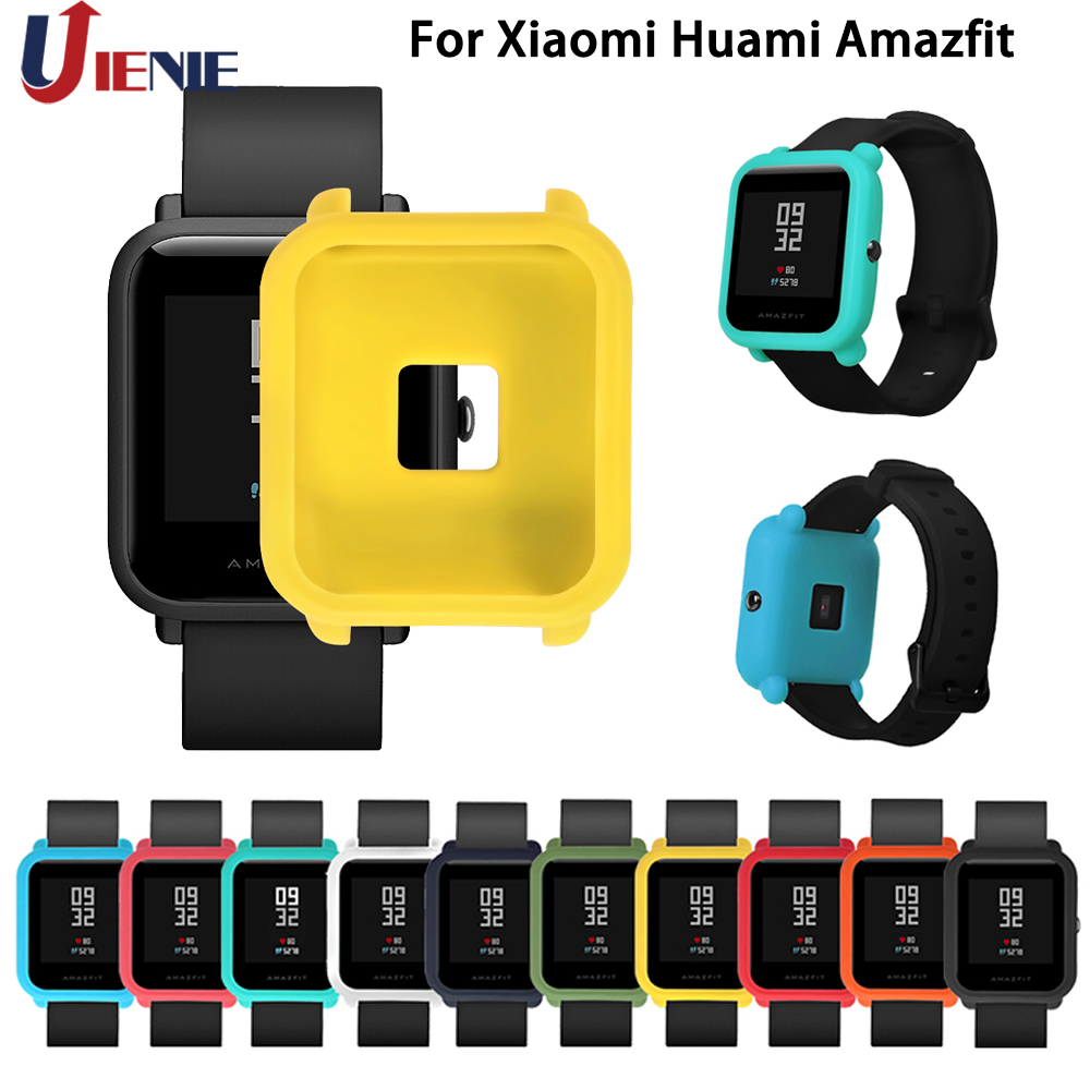 Wearable Devices Yuedaer Protective Case Cover For Xiaomi Huami Amazfit Pace Smart Watch Camo Blue Green Grey Hard Pc Shell Smart Accessories