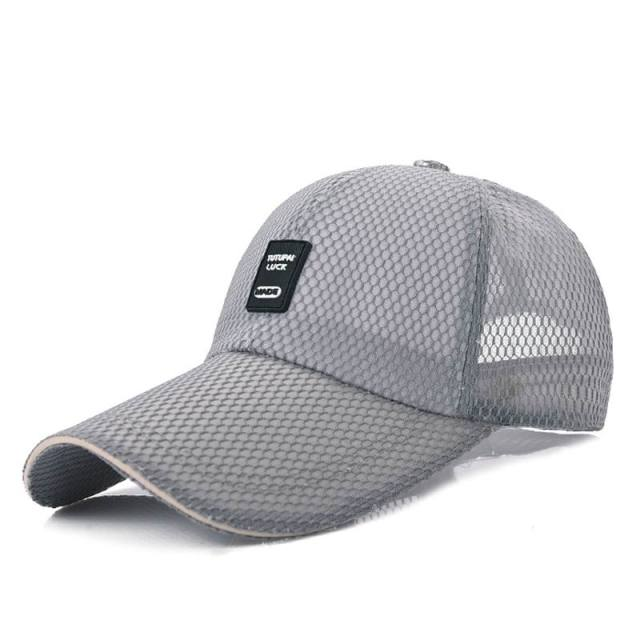 9622a9dd299 OEM Mesh Baseball Cap Mesh Breathable Male Female Baseball Hat Breathable  Quick Dry Net Cap Light Quality Summer Hats