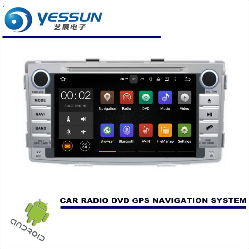 YESSUN For Toyota Hilux 2012~2014 - CD DVD GPS Player Navi Radio Stereo HD Screen Car Multimedia Navigation Wince / Android yessun for mazda cx 5 2017 2018 android car navigation gps hd touch screen audio video radio stereo multimedia player no cd dvd