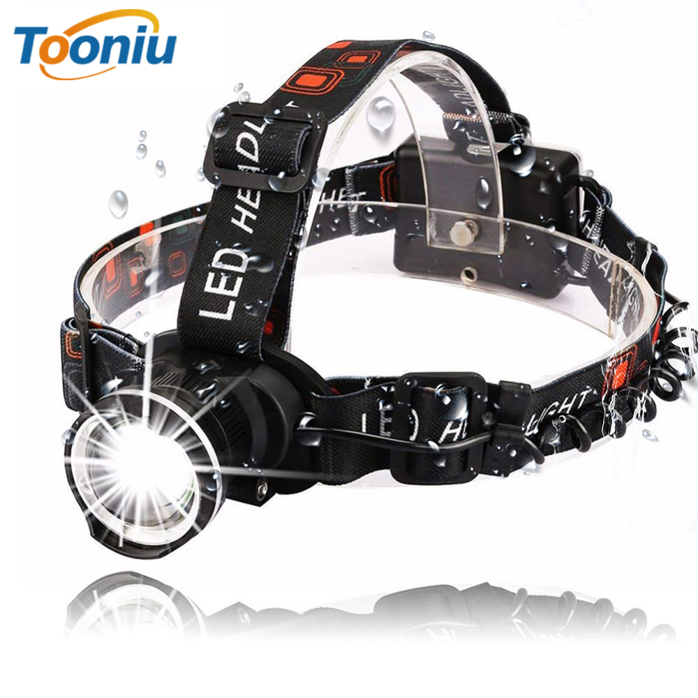 Waterproof Super Bright LED Headlamp T6 LED Headlight Zoomable Headlamp 3 Modes Rotate Zoomable Headlamps Use 3 AA BatteriesWaterproof Super Bright LED Headlamp T6 LED Headlight Zoomable Headlamp 3 Modes Rotate Zoomable Headlamps Use 3 AA Batteries