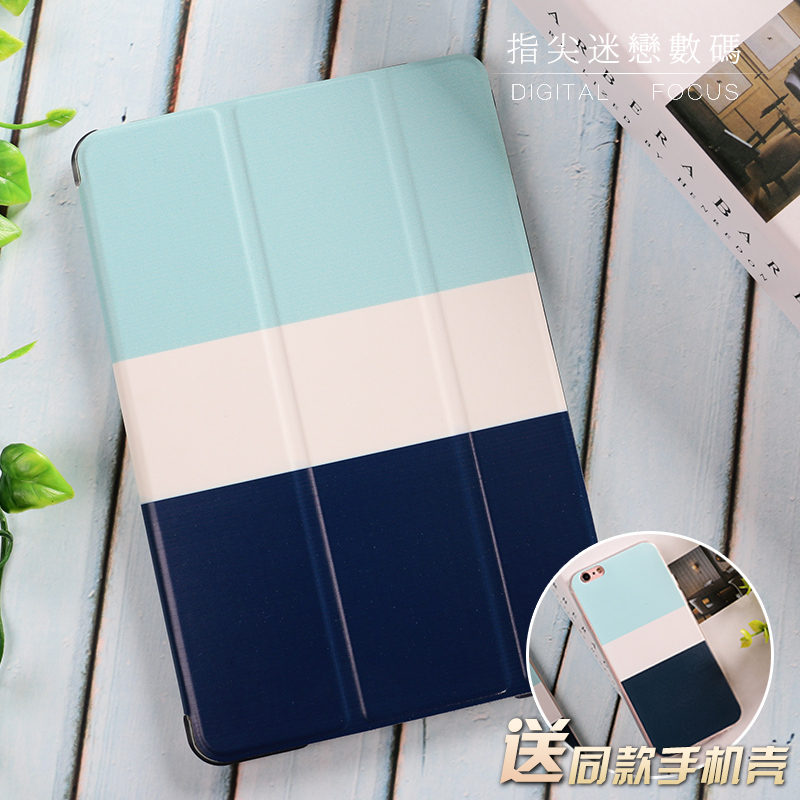 Blue White Hit Color Flip Cover For iPad Pro 9.7 10.5 Air Air2 Mini 1 2 3 4 Tablet Case Protective Shell For New iPad 9.7 2017 for new ipad 9 7 2017 visual acuity chart flip cover for ipad pro 9 7 10 5 air air2 mini 1 2 3 4 tablet case protective shell