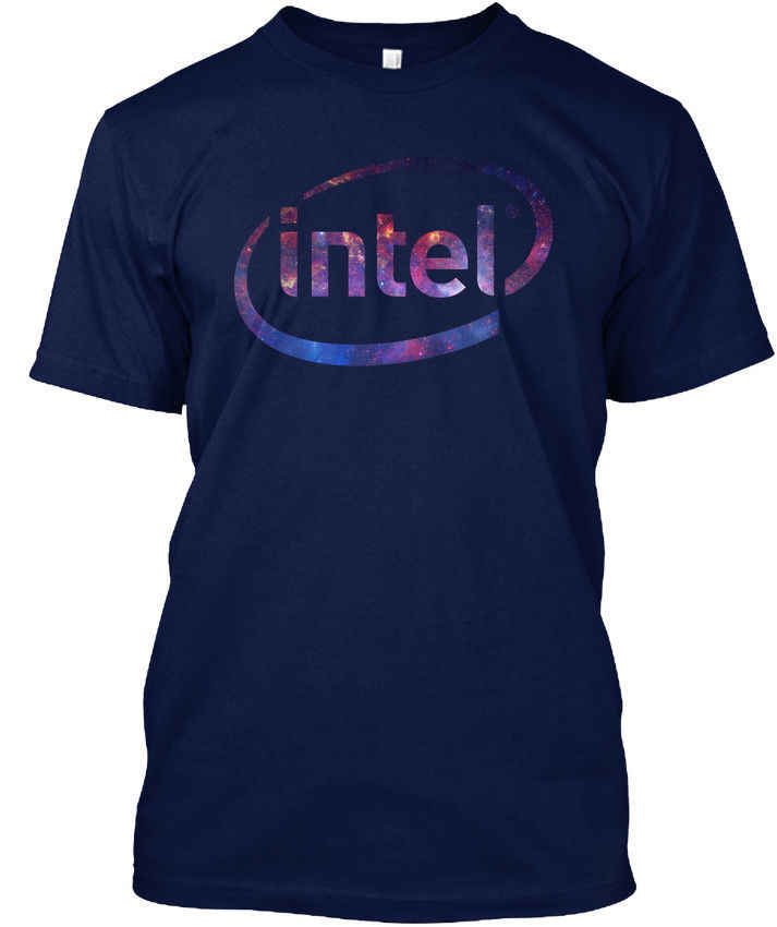 Intel - popular Tagless Tee T-ShirtNew T Shirt Spring Summer