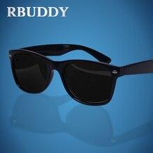 RBUDDY Polarizada Óculos De Sol Dos Homens Clássico Praça Shades óculos Motorista óculos de Sol Da Marca polarizadas gafas de sol hombre marca