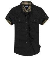 8XL Plus Size Solid Shirts Men Fitness Cotton Men Clothes Casual Men Shirt Black,Khaki XL XXL XXXL 4XL 5XL 6XL 7XL 8XL