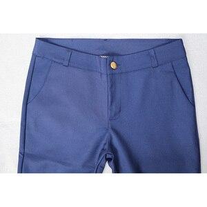 Image 5 - 여성 연필 바지 2019 가을 높은 허리 숙녀 사무실 바지 캐주얼 여성 슬림 Bodycon 바지 탄성 Pantalones Mujer