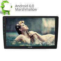 10.1 ''двойной 2 DIN Сенсорный экран Радио стерео нет dvd плеер Android 6.0 Авто Радио Bluetooth GPS навигации OBD2 FM /AM RDS Радио