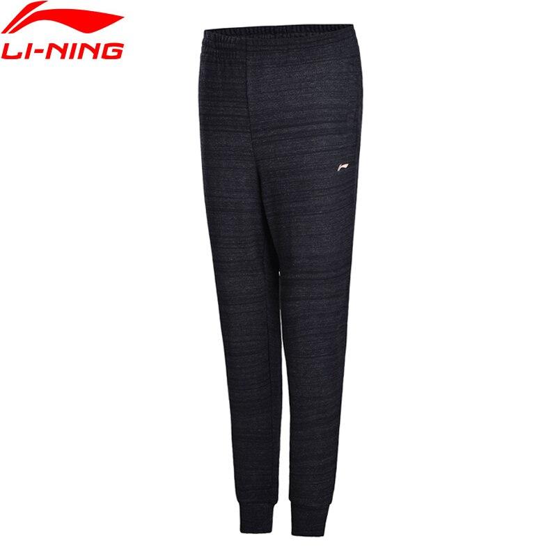 Li-Ning Women The Trend Sweat Pants Fitness Comfort Classic Leisure Sportwear LiNing Sports Knit Pants AKLN144 WKY162 konkord classic comfort 140x195x18