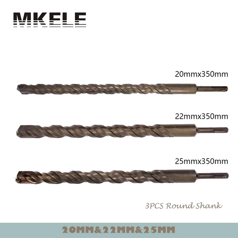 цена на New Arrivals 3Pcs/Set Twist Drill Bit Metal 40CR Chrome-vanadium Steel Drilling Woodworking 20/22/25mm Power Tools Herramientas