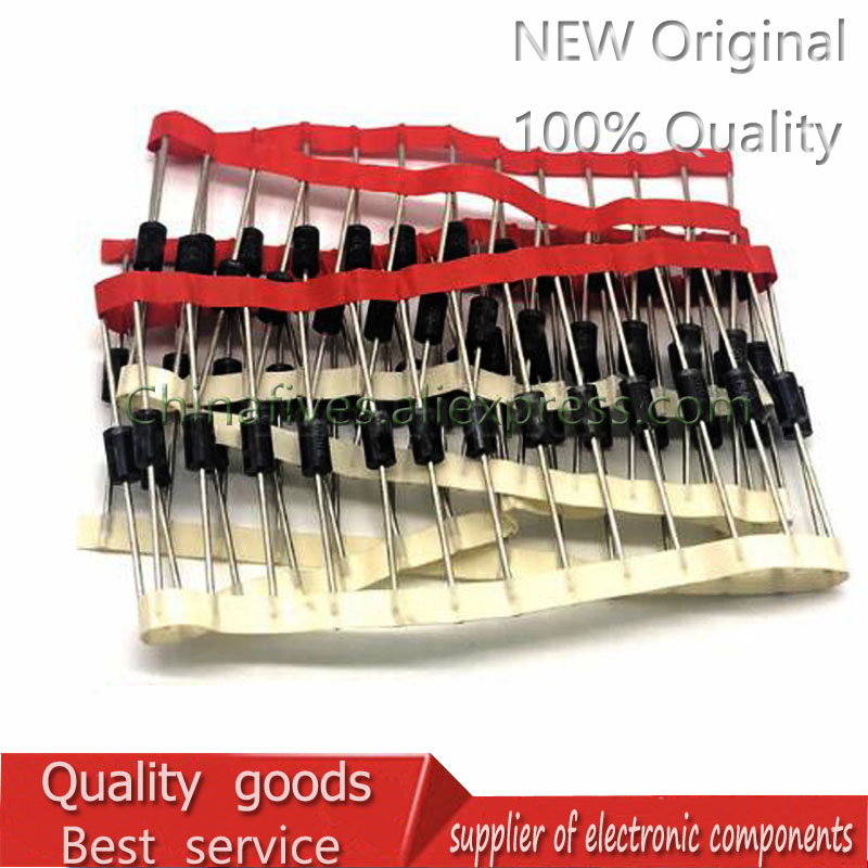 50pcs/lot Fast Recovery Diode MUR120 1A 200V ON DO41