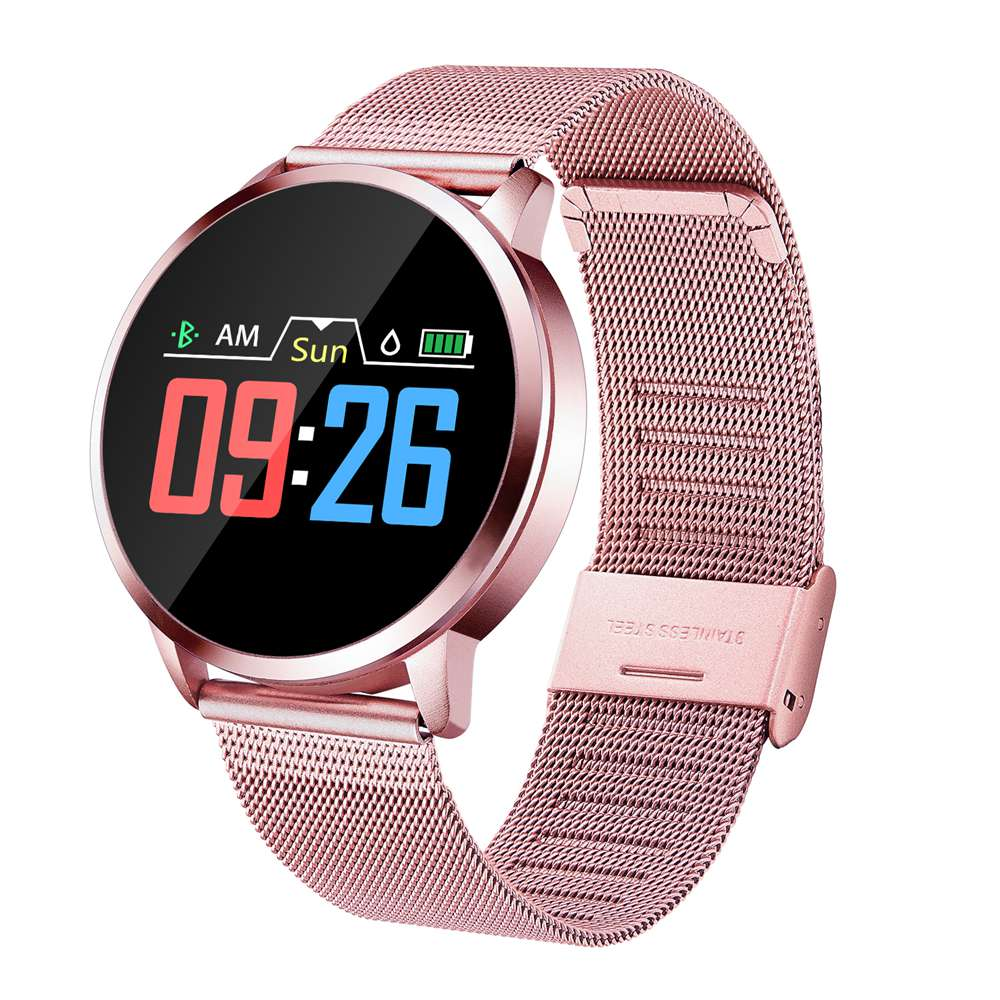 Dynamic Unisex Business, Fitness, Fashion Smart Watch; Multiple Trackers Waterproof