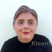 Adults Hillary Mask For USA Presidential Election Props Donald Trump Billionaire Halloween Costume Cosplay Realistic full