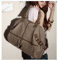 2015 nova moda feminina grande bolsa de lona bolsa de ombro mulheres messenger bags totes cross-corpo RJ969
