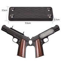 Magnetyczny uchwyt na broń kabura pistolet pistolet magnes trzymać 43lbs 88 sztuk z kartonu