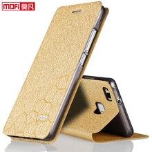 Huawei p9 lite case flip huawei p9 lite case leather original mofi inner aluminium metal case fundas thin glitter VNS-TL00