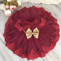 0 6Y Princess Baby Girls Party Dress Christmas Gift Toddler Kids Wedding Bridesmaid Formal Girls Clothing