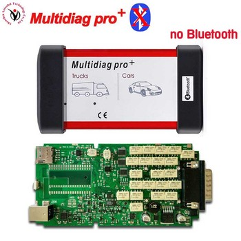 5pcs DHL free ship 2016.0 software free activate New VD TCS CDP PRO Multidiag pro+ with A+ Quality Single Board PCB NO Bluetooth
