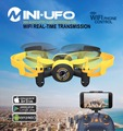 JIN XIN DA JXD 512 W WIFI 2.4 GHz drone con Cámara de $ number MP HD FPV Alta Modo de Retención de Una Tecla de Retorno Mini RC Quadcopter RTF